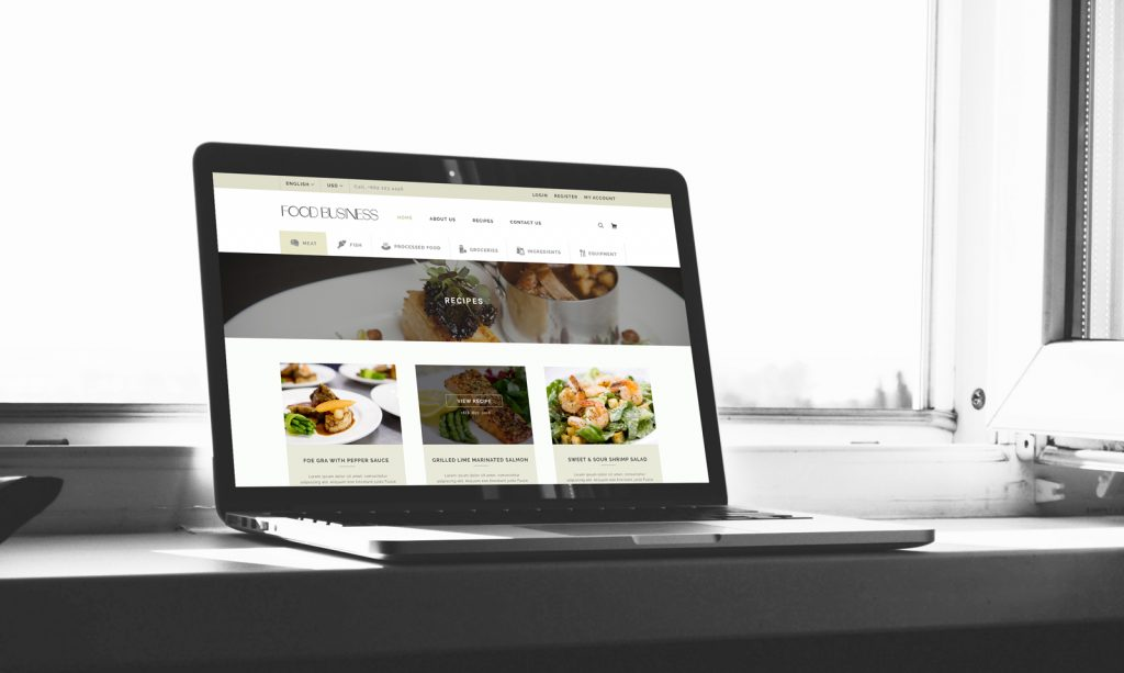 Food business websites thailand