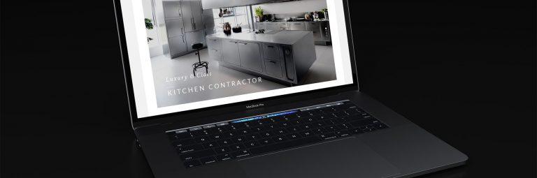 Kitchen Design Company Website
