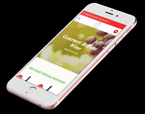 Mobile eCommerce Website Design
