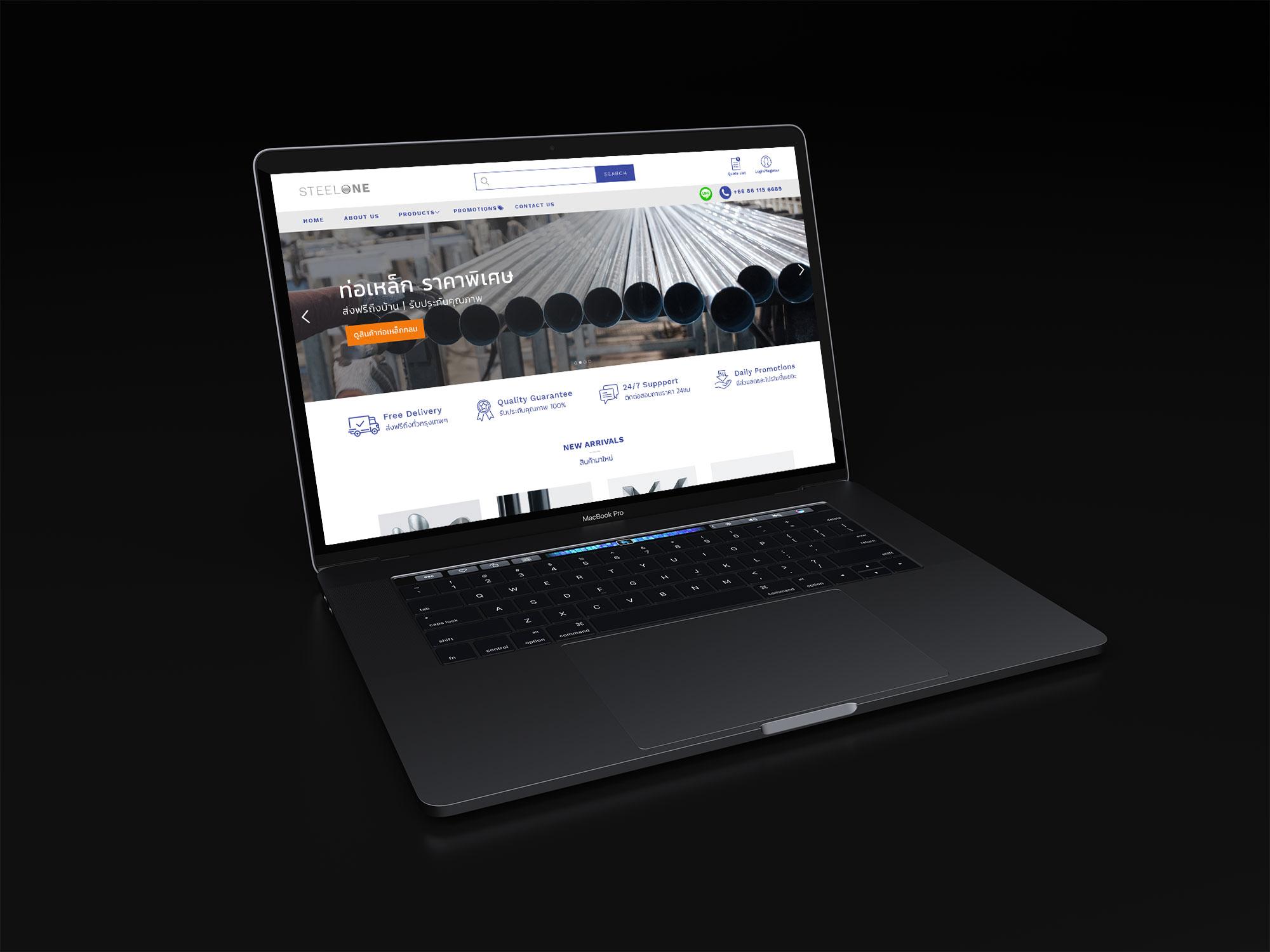 Steel pipes online website bangkok