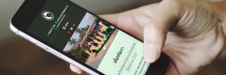 web design for tour companies bangkok