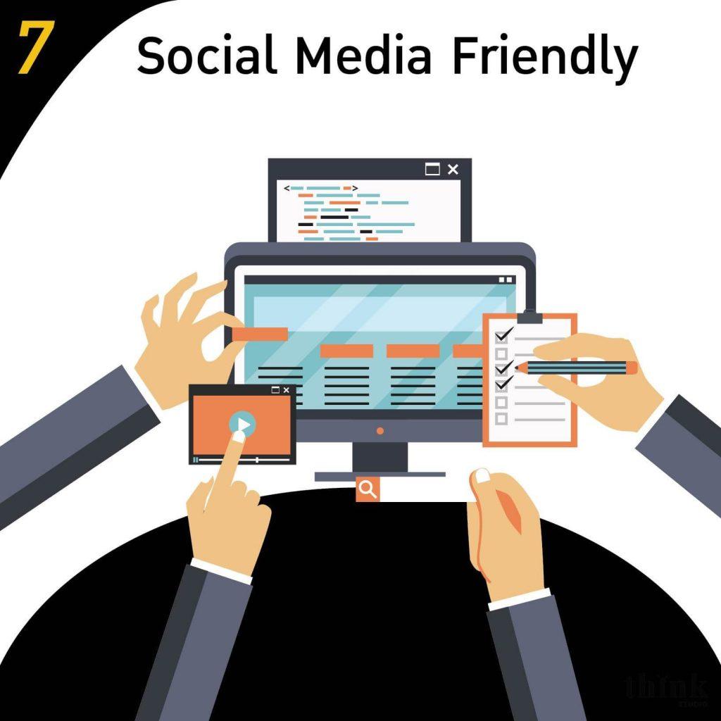 Wordpress makes site sharing friendly