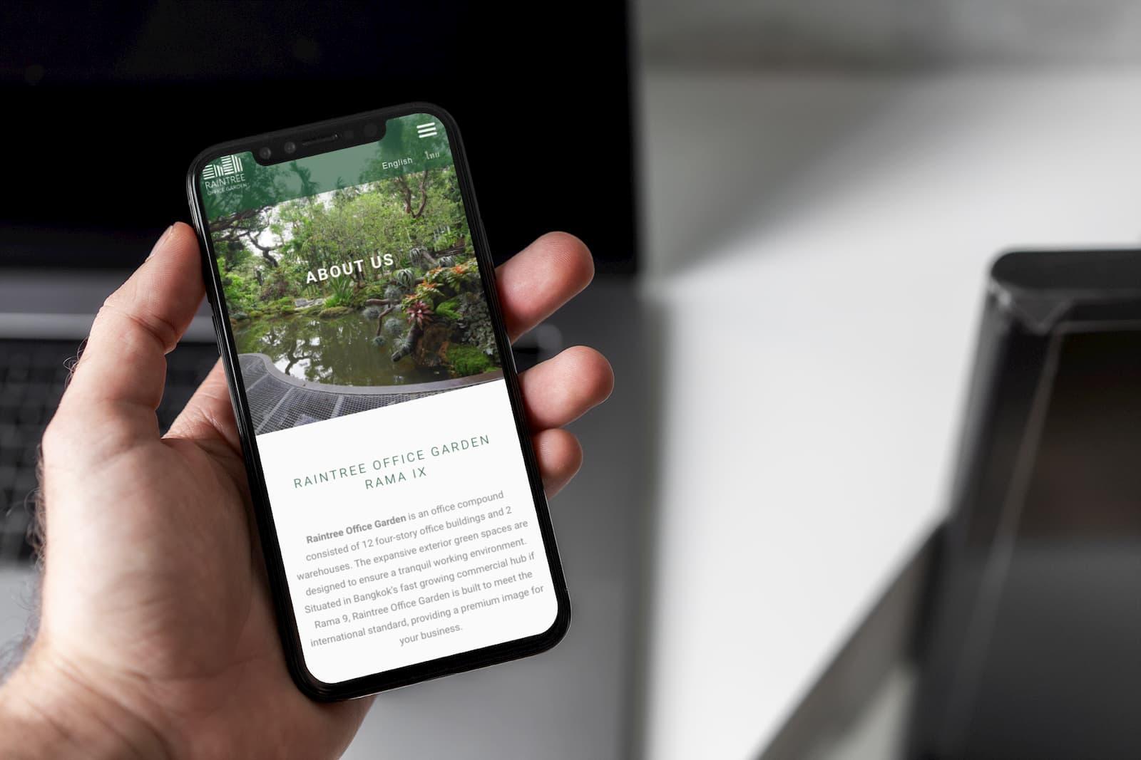 mobile web design service bangkok