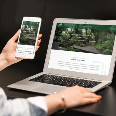real estate website design service bangkok