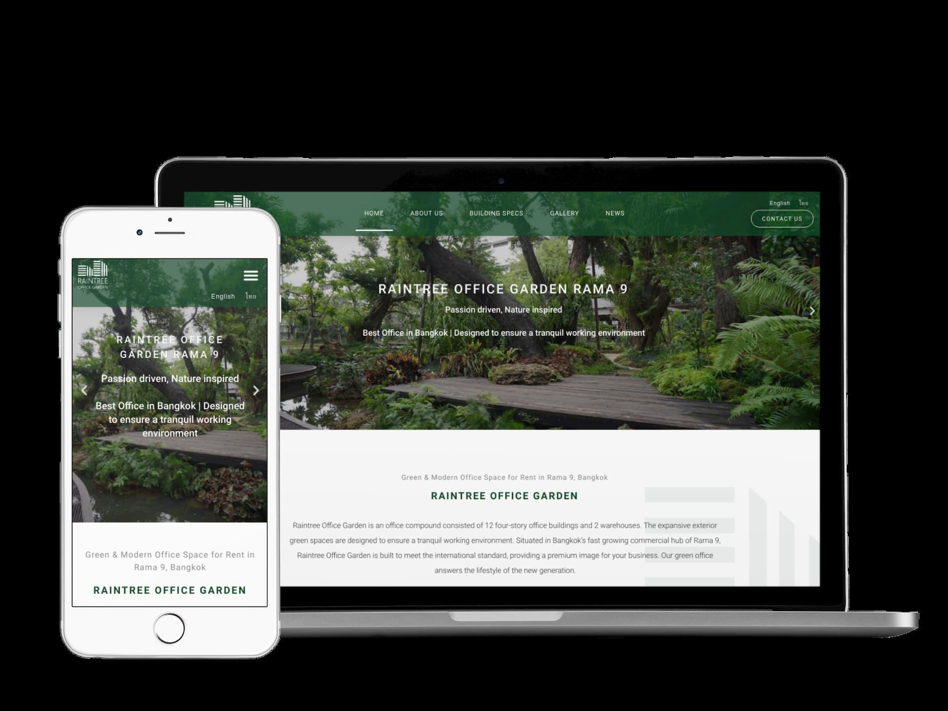 real estate website seo service bangkok